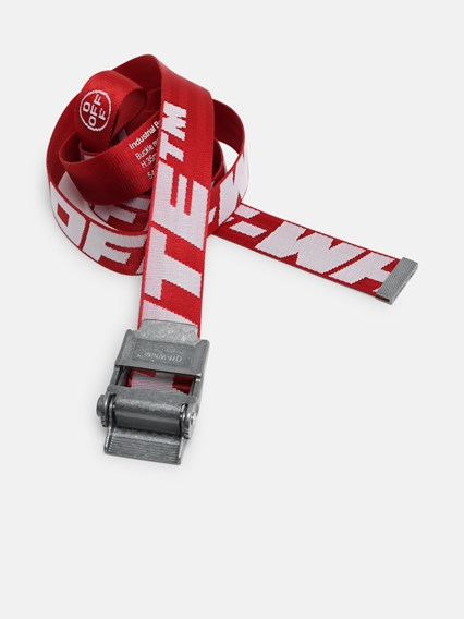 nuovo prodotto 92839 a3564 off white c/o virgil abloh RED INDUSTRIAL 2.0 BELT available on ...
