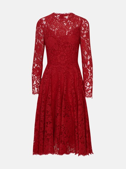 dolce \u0026 gabbana RED DRESS available