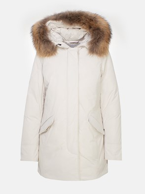 WOOLRICH - WHITE ARTIC RACOON PARKA