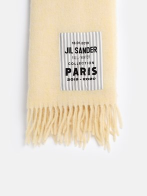 JIL SANDER - YELLOW SCARF