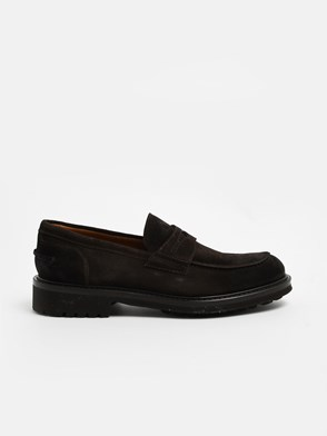 DOUCAL'S - BROWN PENNY LOAFERS