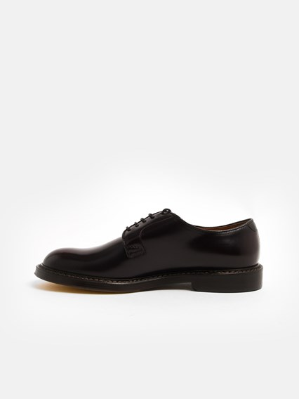 DOUCAL'S BURGUNDY DERBY SHOES  - COD. DU1385SIENUF007T     L01
