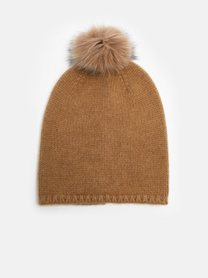 MAX MARA - BROWN CRASSO BEANIE