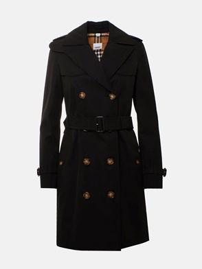 BURBERRY - BLACK ISLINGTON TRENCH COAT