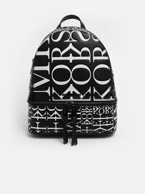 MICHAEL MICHAEL KORS - BLACK AND WHITE RHEA BACKPACK