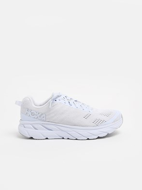 HOKA ONE ONE - WHITE CLIFTON SNEAKERS