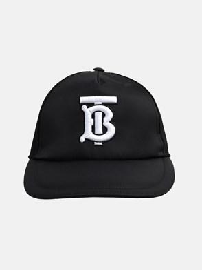 BURBERRY - BLACK TRUCKER HAT