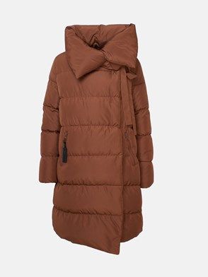 BACON - BROWN BIG PUFFA DOWN JACKET