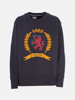 HILFIGER COLLECTION - BLUE SWEATSHIRT
