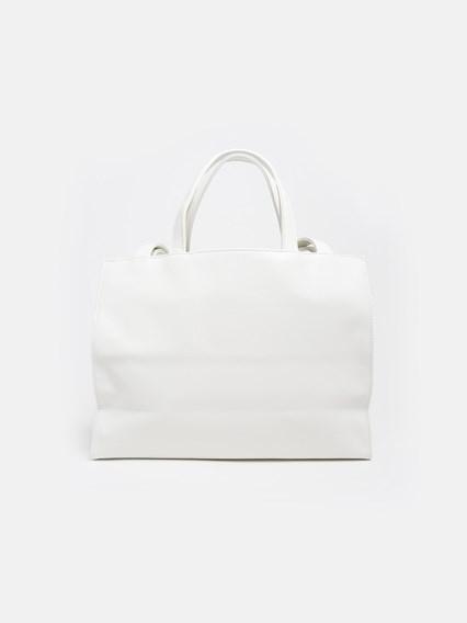 TELFAR WHITE BAG - COD. TF-01-S - 142891     WT