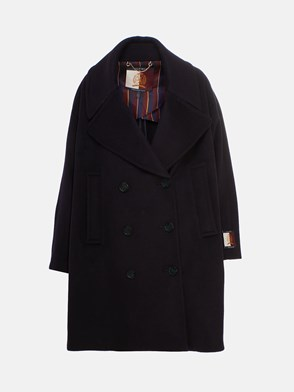 HILFIGER COLLECTION - CAPPOTTO OVER NAVY