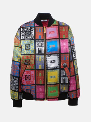 GCDS - MULTICOLOR BOMBER JACKET