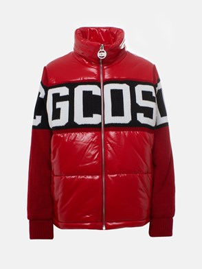 GCDS - RED DOWN JACKET