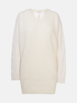 MAX MARA - WHITE PIERA SWEATER