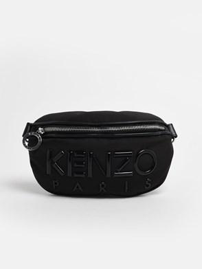 KENZO - BLACK BUMBAG FANNY PACK