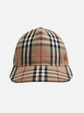 BURBERRY - TRUCKER CHECK HAT