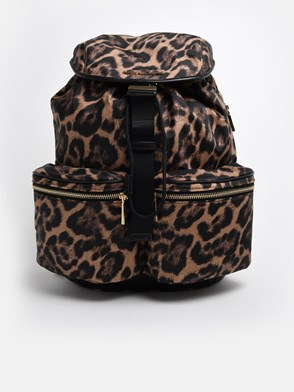 MICHAEL MICHAEL KORS - LEOPARD-PRINT BACKPACK