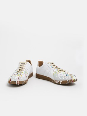 MAISON MARGIELA - SNEAKERS REPLICA PAINTER BIANC