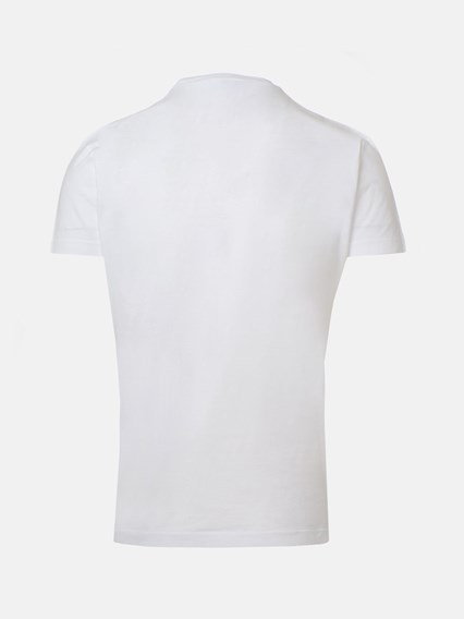 DSQUARED2 WHITE T-SHIRT - COD. S74GD0647 S22427     100