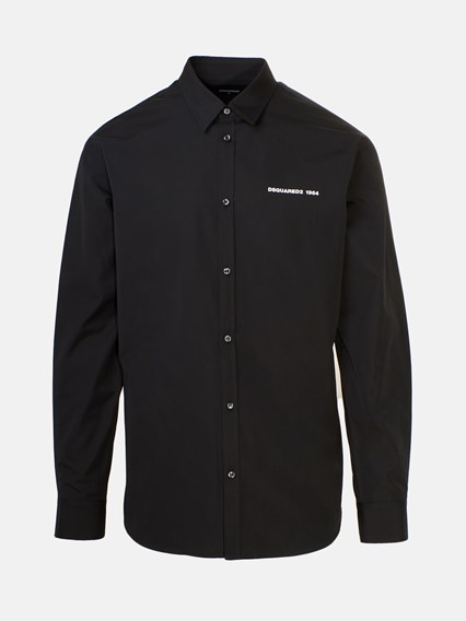 DSQUARED2 BLACK SHIRT - COD. S74DM0394 S36275     900