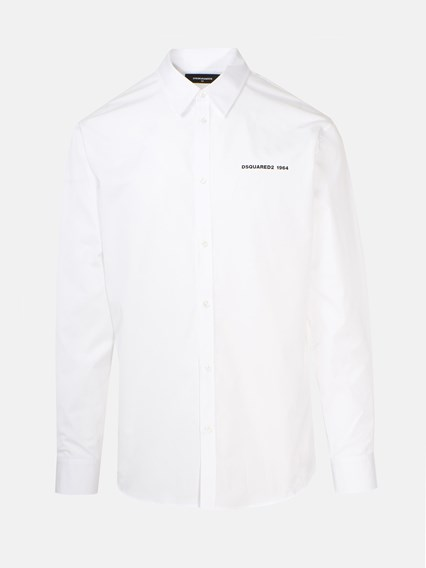 DSQUARED2 WHITE SHIRT - COD. S74DM0394 S36275     100