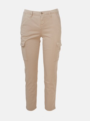 7 FOR ALL MANKIND - PANTALONI CARGO BEIGE