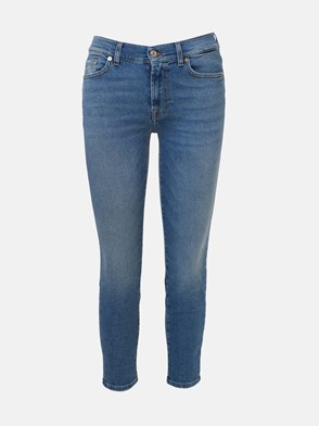 7 FOR ALL MANKIND - JEANS ROXANNE SLIM BLU