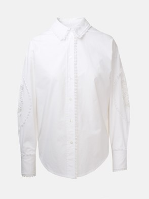 SEE BY CHLOE' - CAMICIA PANNA