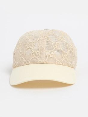 GUCCI - IVORY GG HAT