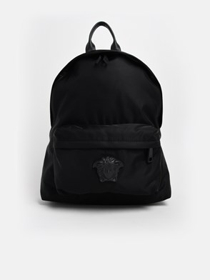 VERSACE - BLACK PALAZZO BACKPACK