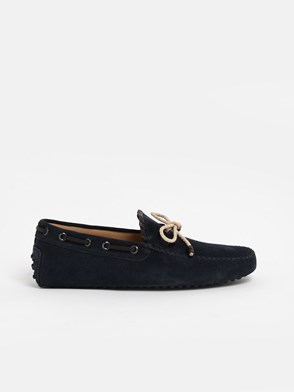 TOD'S - BLUE LOAFERS