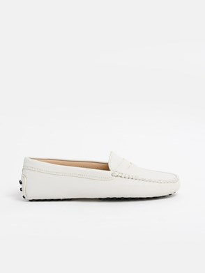 TOD'S - WHITE LOAFERS