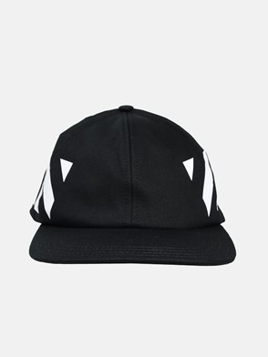 OFF WHITE - CAPPELLINO DIAG NERO