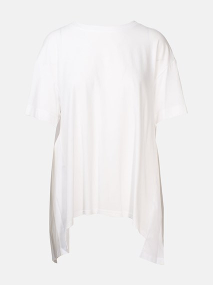 DKNY WHITE T-SHIRT - COD. P9JH0DRA             WHT