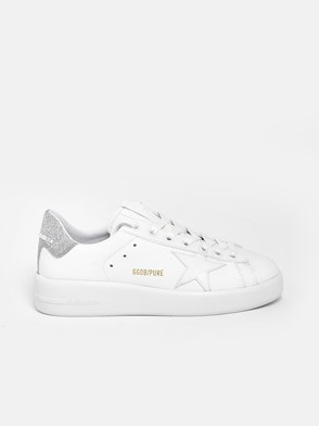 GOLDEN GOOSE DELUXE BRAND - SNEAKERS PURE STAR TALL.ARGENT