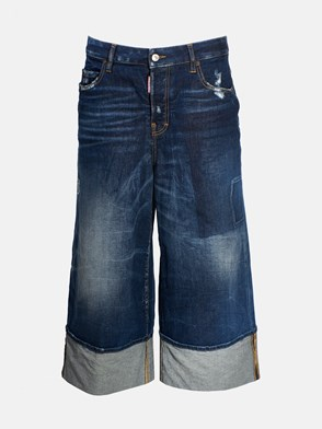 DSQUARED2 - JEANS LARGO BLU