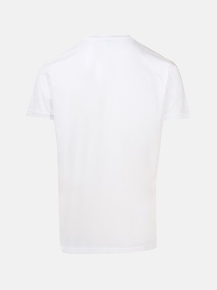 DSQUARED2 WHITE T-SHIRT - COD. S74GD0656 S22427     100