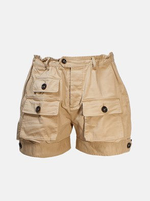 DSQUARED2 - SHORTS TASCONI BEIGE