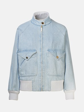 ALBERTA FERRETTI - LIGHT DENIM JACKET