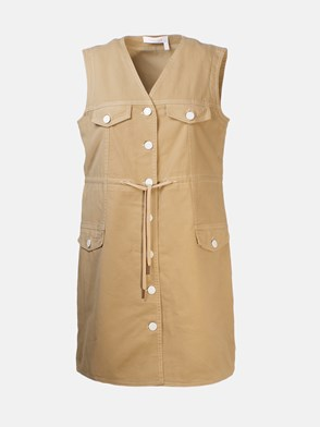 SEE BY CHLOE' - VESTITO BEIGE