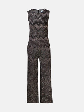 M MISSONI - TUTA INTERA LUREX NERA