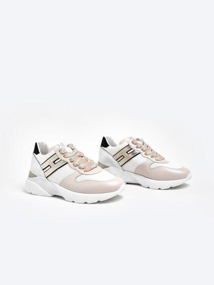 hogan SNEAKERS ACTIVE ONE H385 ROSA available on www ...
