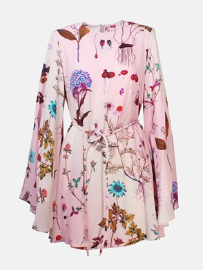 STELLA McCARTNEY - VESTITO FLOREALE ROSA