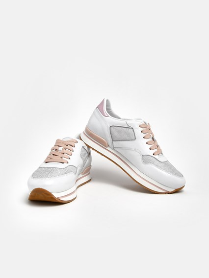 SNEAKERS H222 ARGENTO
