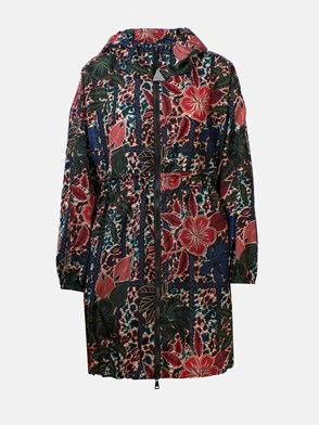 MONCLER - MULTICOLOR LICHEN RAINCOAT