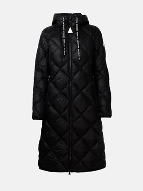 MONCLER - BLACK SUVEX COAT
