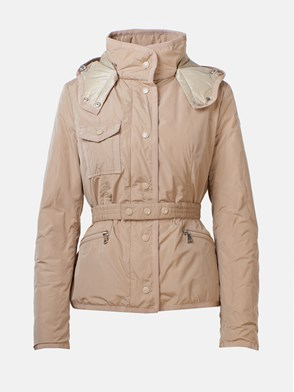 MONCLER - BEIGE ROSE JACKET