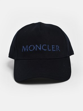 MONCLER - CAPPELLINO BLU