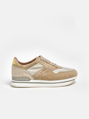 HOGAN - SNEAKERS H222 BEIGE
