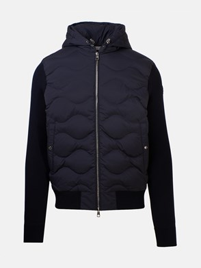 MONCLER - BLUE DOWN JACKET